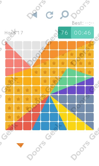 Cheats, Walkthrough for Blocks and Shapes Hard Level 17