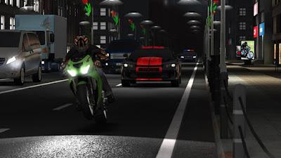 لعبة السباقات الرائعة Racing Fever Moto مهكرة للأندرويد