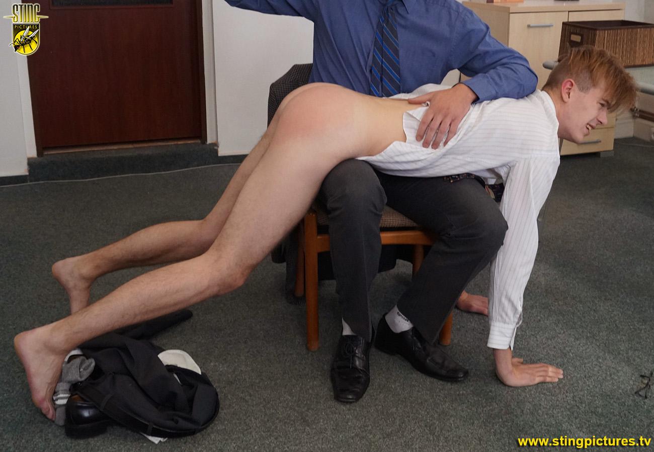 male spanking