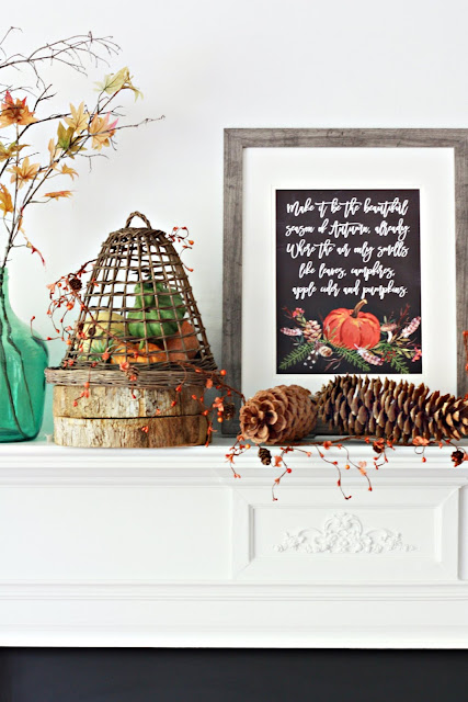 fall pumpkin free printable