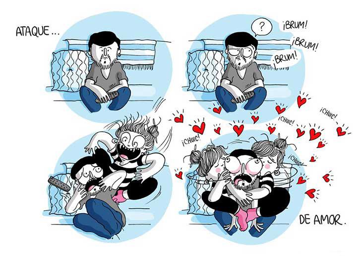 10 momentos de pareja que te identificaran, en El Libro Gordo de la Vida