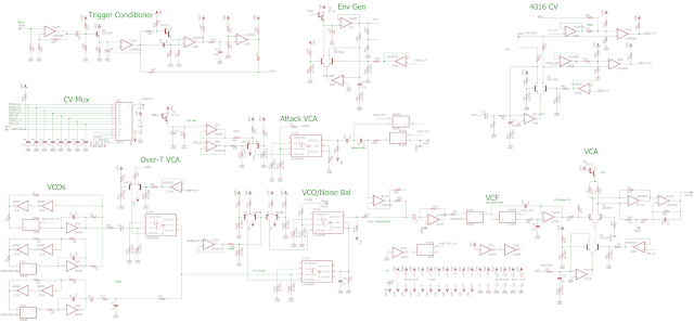 ZEN Instruments: Pearl DRUM-X Schematic