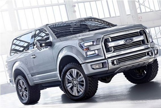 2017 Ford Bronco Specs, Engine and Release Date