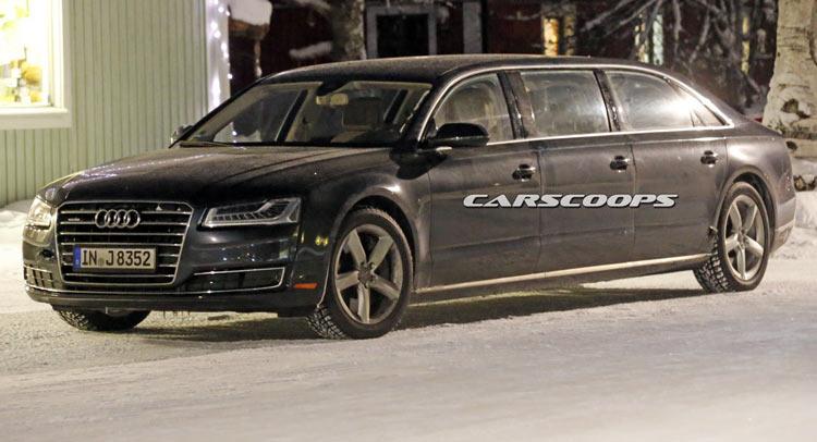 Audi A8 Limousine : is audi targeting maybach with 6 door a8 stretch limo ~ Nature-et-papiers.com Idées de Décoration