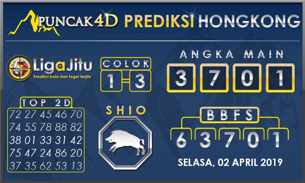 PREDIKSI TOGEL HONGKONG PUNCAK4D 02 APRIL 2019