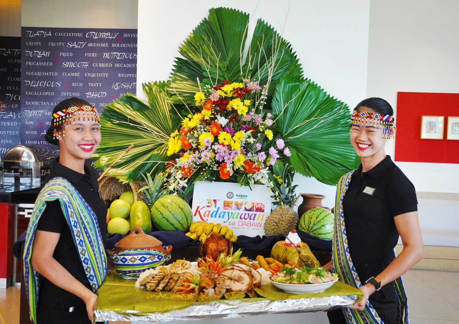 rbg bar and grill Kadayawan Special Boodle fight rematch park inn by radisson davao