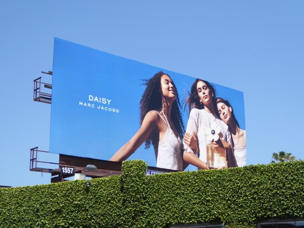 Marc Jacobs Daisy fragrance billboard