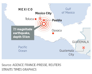 'the extent to which the earthquake The 1985 quake was much stronger in magnitude, but it's epicenter  however,  magnitude is just one factor in determining the extent of the.