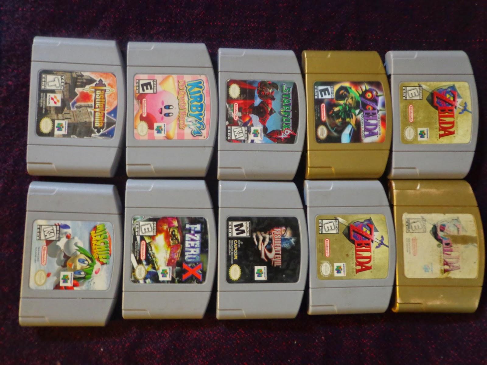 El Blog De Ajax Mi Coleccion Nintendo 64
