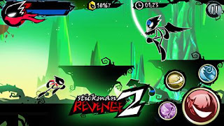 Screenshots of the Stickman revenge 2 for Android tablet, phone.
