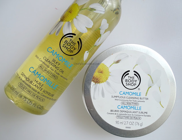 The Body Shop Camomile Cleansing Butter and Oil