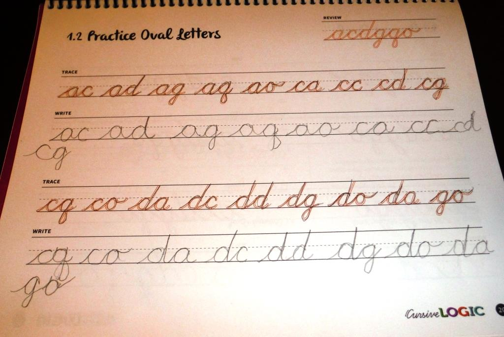 Training Happy Hearts: Cursive Writing Made Simple {A CursiveLogic