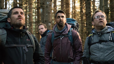 The Ritual, Filem, Movie, English Movie, 2017, Filem Seram, The Ritual Movie, Review By Miss Banu, The Ritual Review, Filem Adaptasi Novel, Novel The Ritual, Adam Nevill, The Ritual Cast, Pelakon Filem The Ritual, Rafe Spall, Arsher Ali, Robert James Collier, Sam Troughton, Paul Reid, Kerri Mclean, Maria Erwolter, Franceesca Mula, My Opinion, My Feeling, My Review, The Ritual Poster,