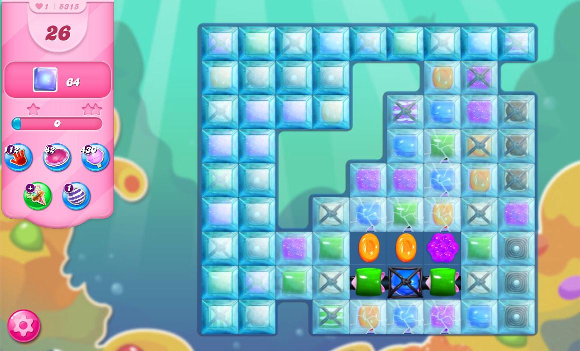 Candy Crush Saga level 5315