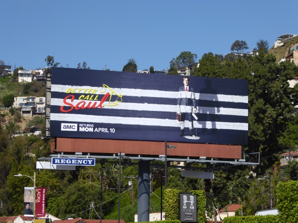 Better Call Saul season 3 billboard