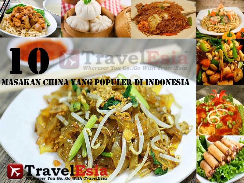 10 Masakan China Yang Populer Di Indonesia