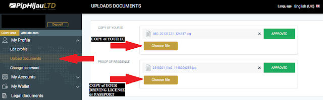 Piphijau Account Registration
