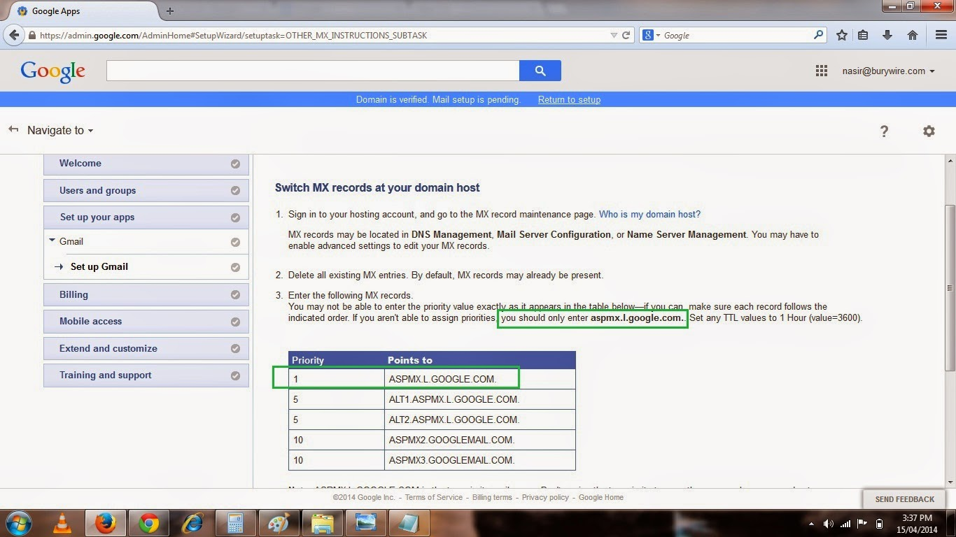 Pic-9(t) Setting up your Business email with Gmail