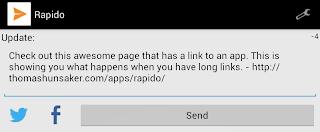 Rapido 1.2 Link Count