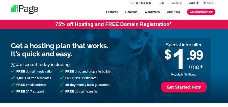 iPage Homepage