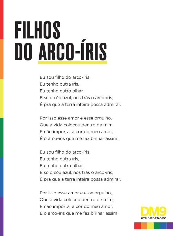 """Ouça """"Filhos do Arco-Íris"""", hit para a causa LGBT com lucros revertidos no combate ao HIV"""