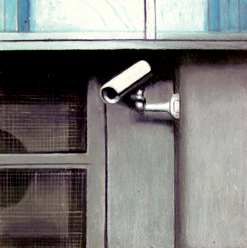 Daily Realism Paintings By Gerard Boersma Security Camera