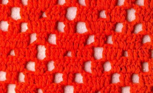 Patrón 922 Punto Calado a Crochet