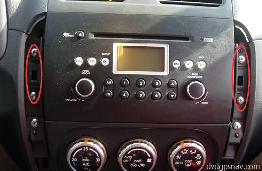 After Market Head Unit With Dvd Player And Navigation