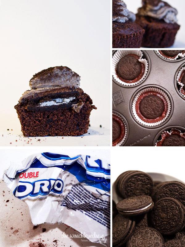 Cupcakes mit Oreokeksen