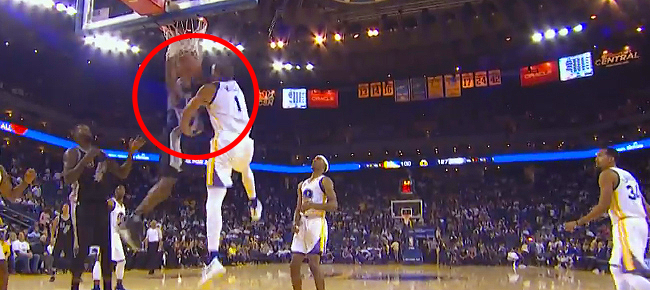 Jonathon Simmons BIG Poster Dunk On JaVale McGee! Full Highlights Against Warriors (VIDEO)