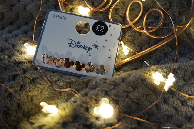 Mickey Mouse Earrings - Primark