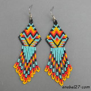 индейские украшения бисер