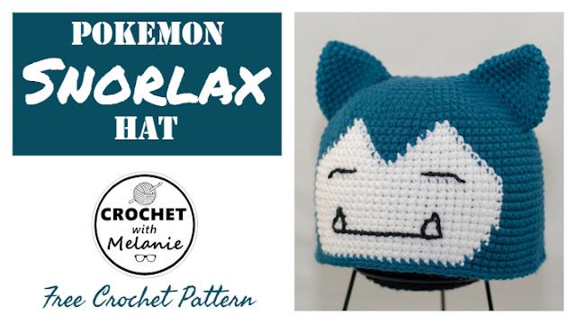 Snorlax Hat Free Crochet Pattern