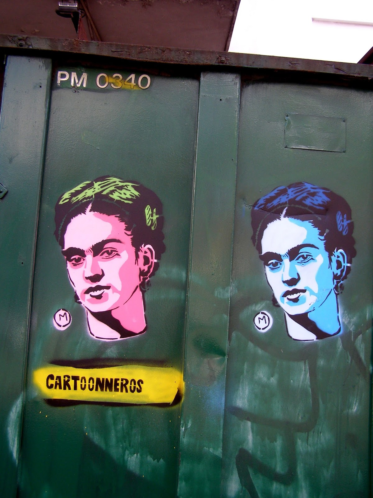 Cartoon Neros  Frida Kahlo En Colegiales
