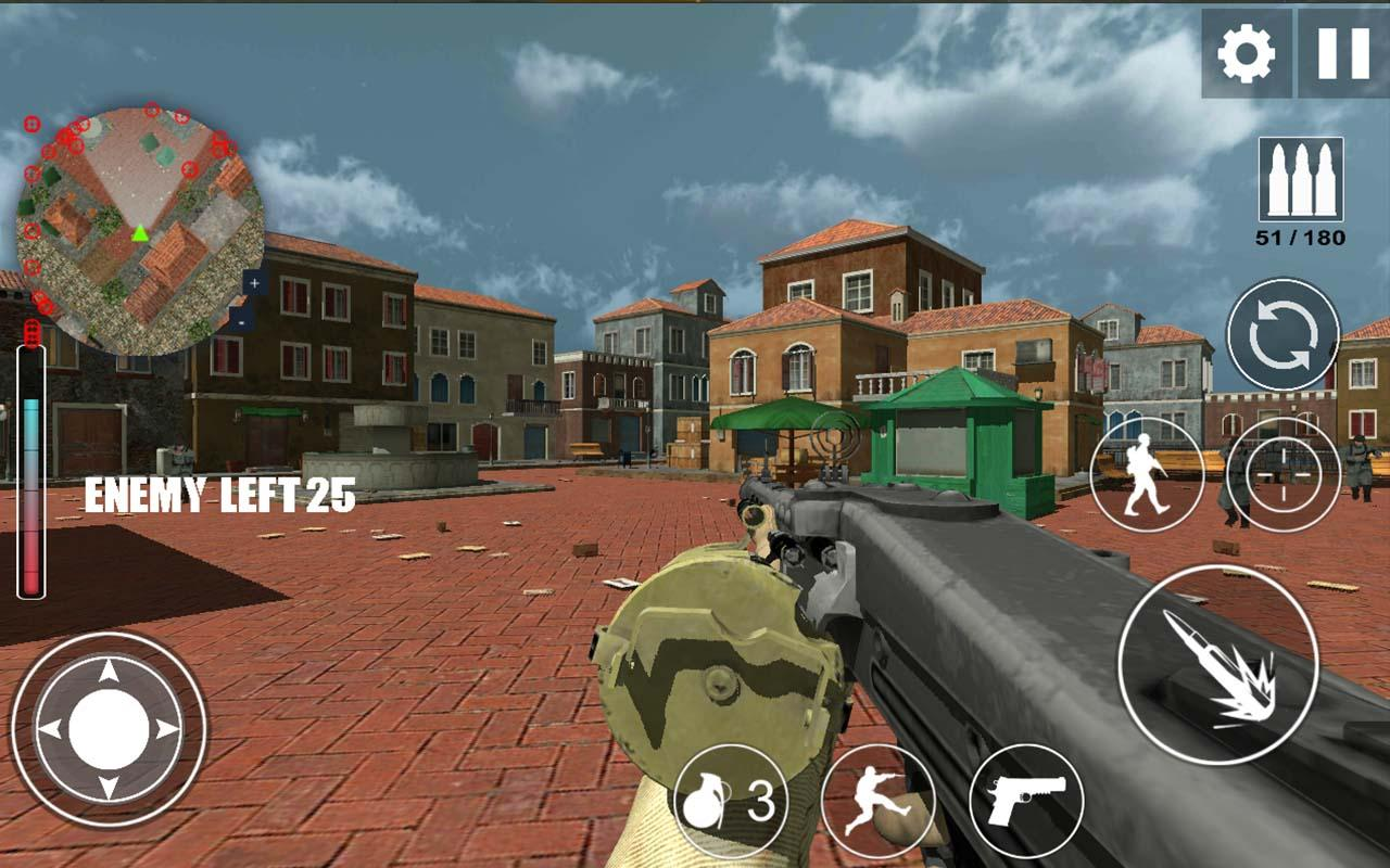 downlod Download World War 2 WW2 Secret Agent FPS MOD APK Terbaru