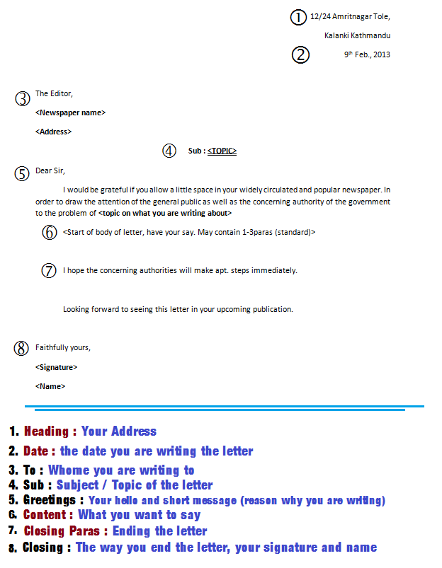 Letter Along With Numbers And Details