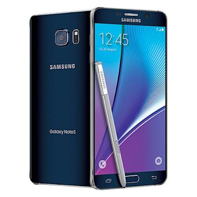 Harga Samsung Galaxy Note 5 SM Duos 32 GB (Keluaran Agustus 2015)
