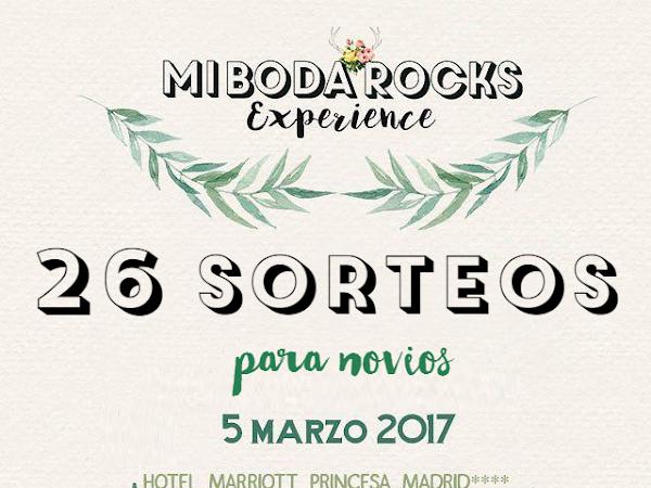 Expositores & Sorteos Mi Boda Rocks Experience 2017