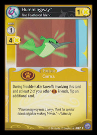 My Little Pony Hummingway, Fine Feathered Friend Premiere CCG Card