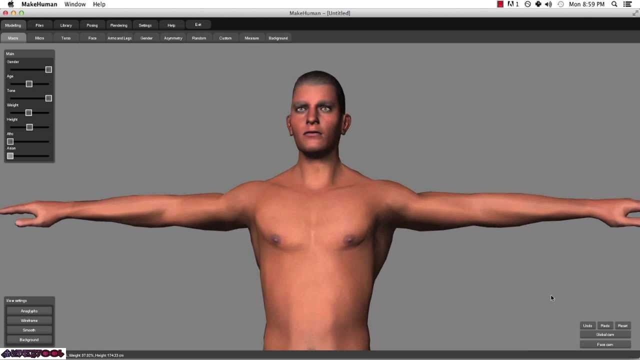 How to download and install makehuman blender tutorial || free 3d.