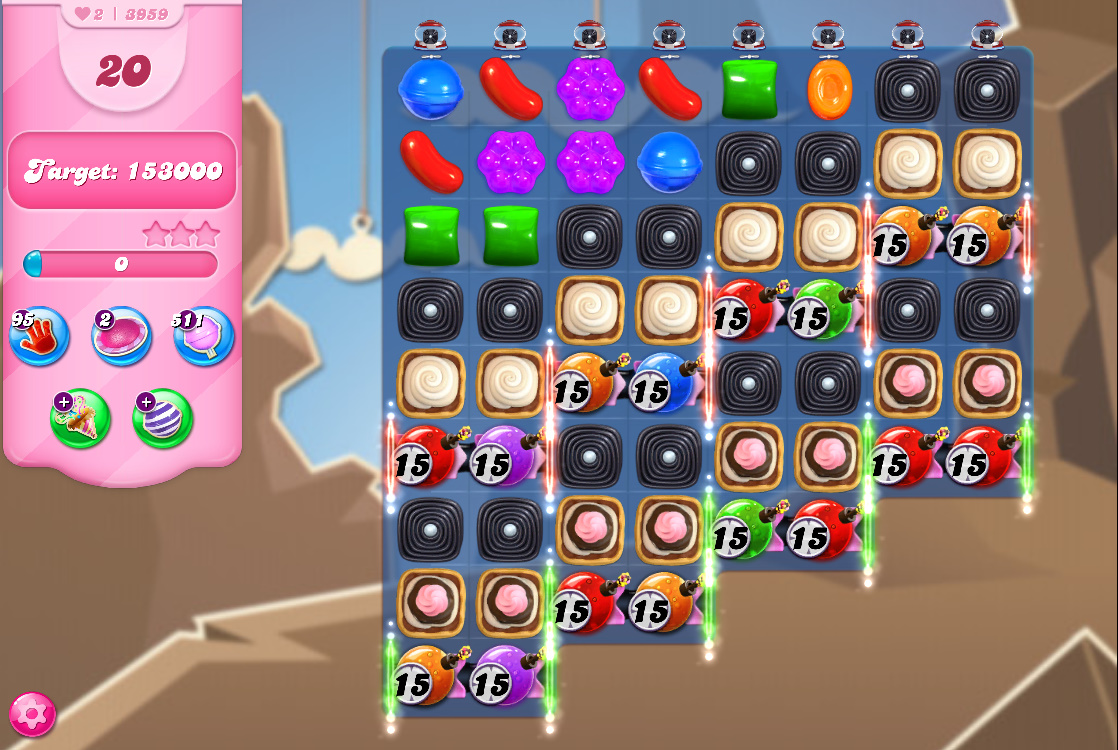 Candy Crush Saga level 3959