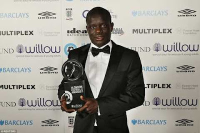 Chelsea Player, Kante Crowned EPL Player of the Year
