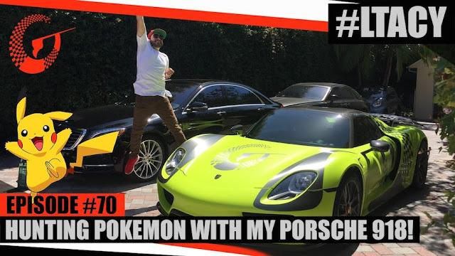 スーパーカーに乗ってポケモンを探しに行く海外のお金持ちがスゴい!