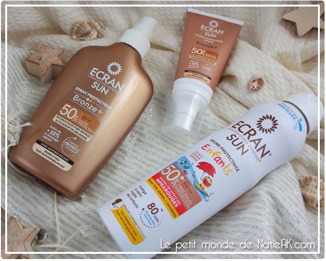 protection solaire visage et corps