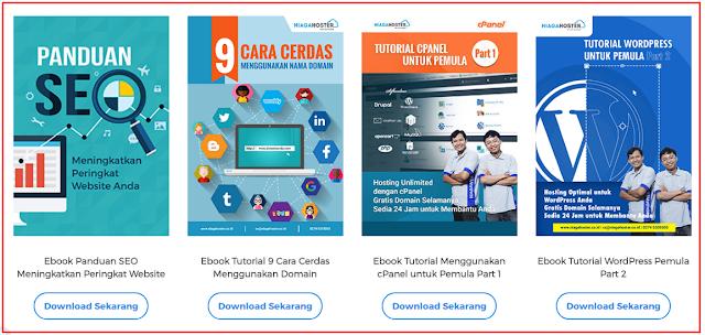 ebook Gratis Niagahoster, Panduan SEO meningkatkan peringkat website