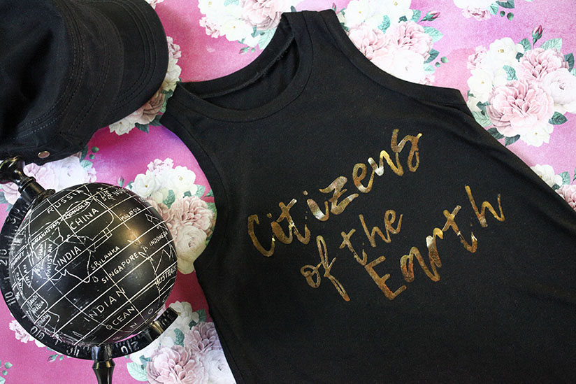 The Citizens of the Earth sleeveless tank