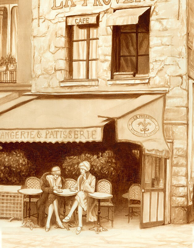 03-Paris-Karen-Eland-The-World-Through-Coffee-Paintings-www-designstack-co
