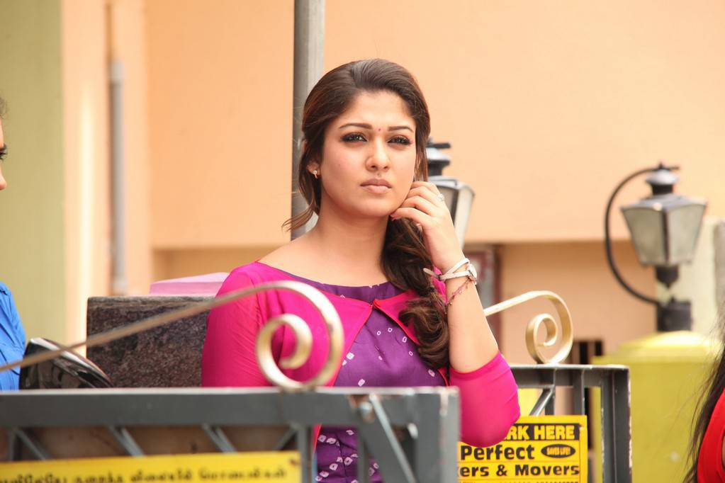 Nayanthara Pics In Pink Dress