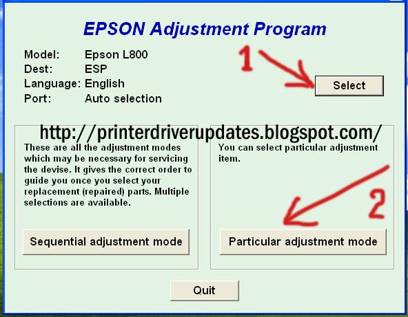 Download Software Resetter Printer Epson L130, L220, L310