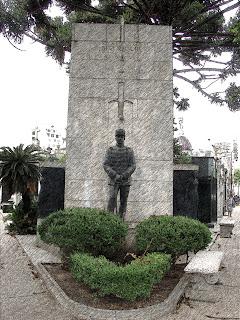 Jazigo de Pablo Riccheri, no Cemitério da Recoleta, Buenos Aires